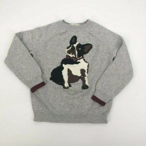 Peek Boys French Bulldog Knit Pullover Sweater